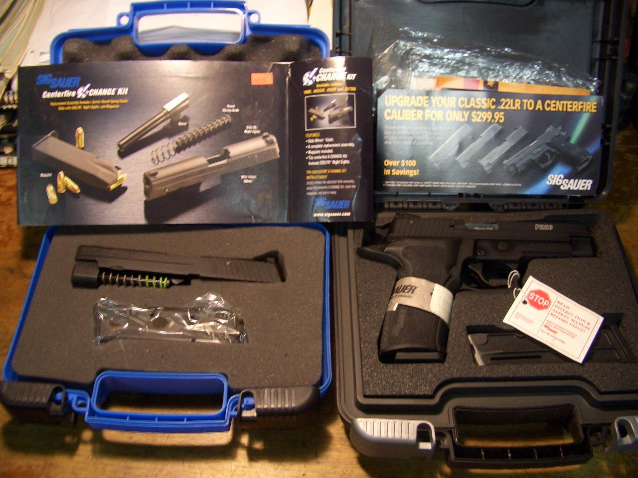 SIG SAUER P-226 .40 / .22 NIGHT SIGHT PACKAGE  Guns > Pistols > Sig - Sauer/Sigarms Pistols > P226