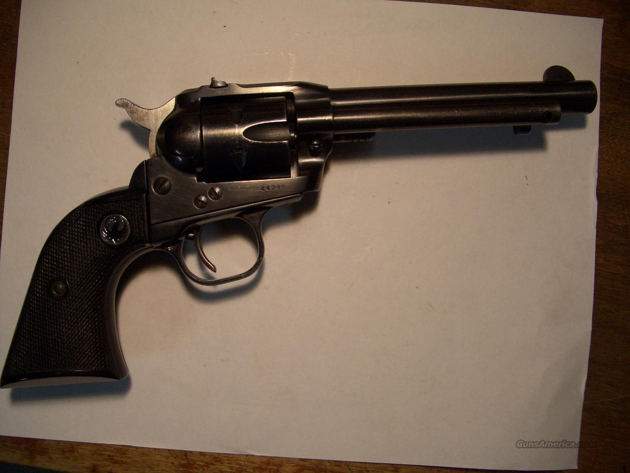 RUGER SINGLE SIX OLD MODEL  Guns > Pistols > Ruger Single Action Revolvers > Single Six Type