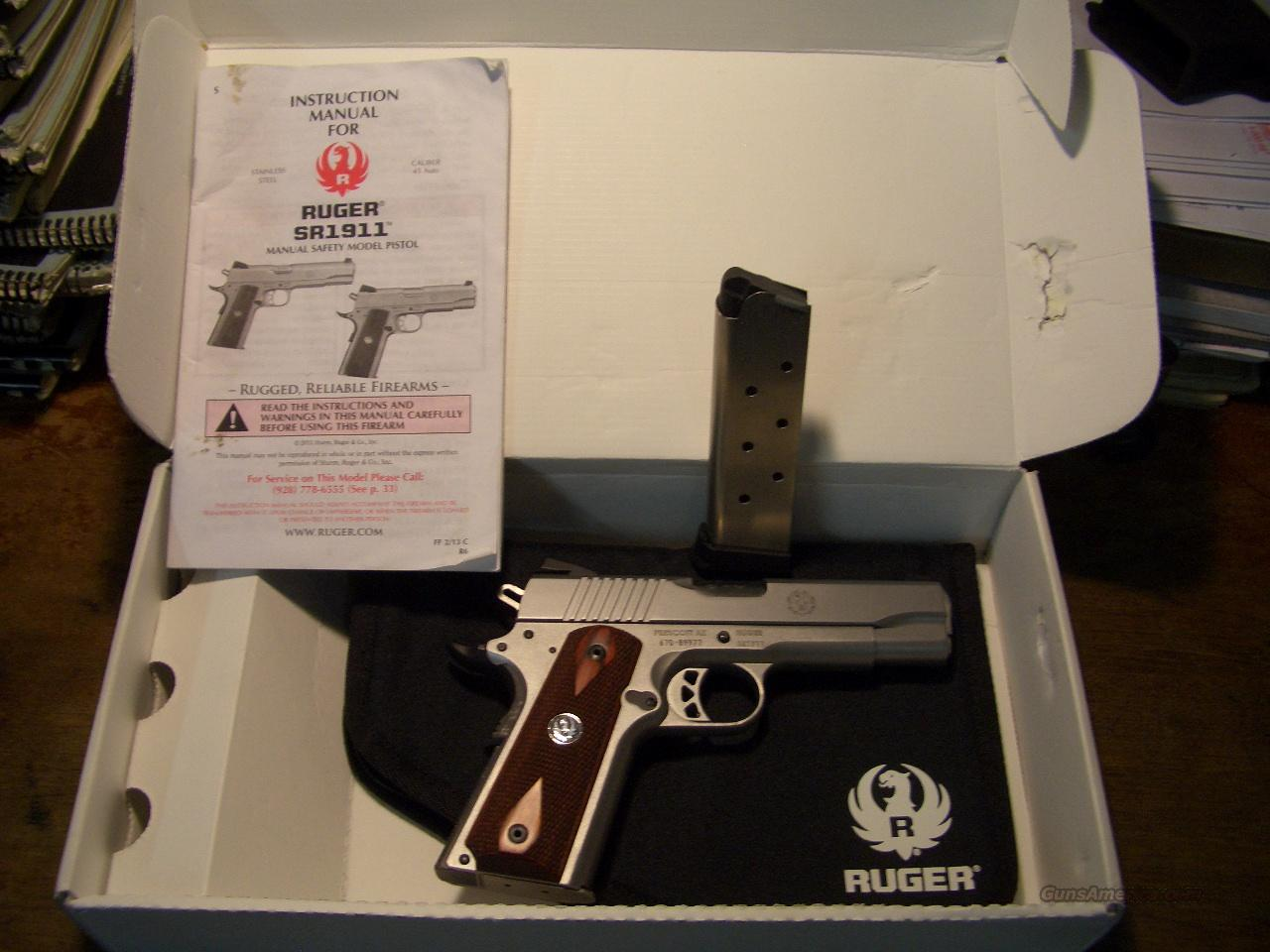RUGER SR-1911 COMMANDER  Guns > Pistols > 1911 Pistol Copies (non-Colt)
