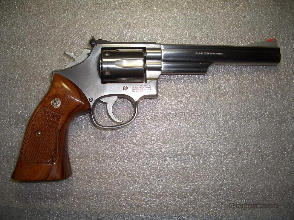 "S&W 66-3 6""  Guns > Pistols > Smith & Wesson Revolvers > Full Frame Revolver"