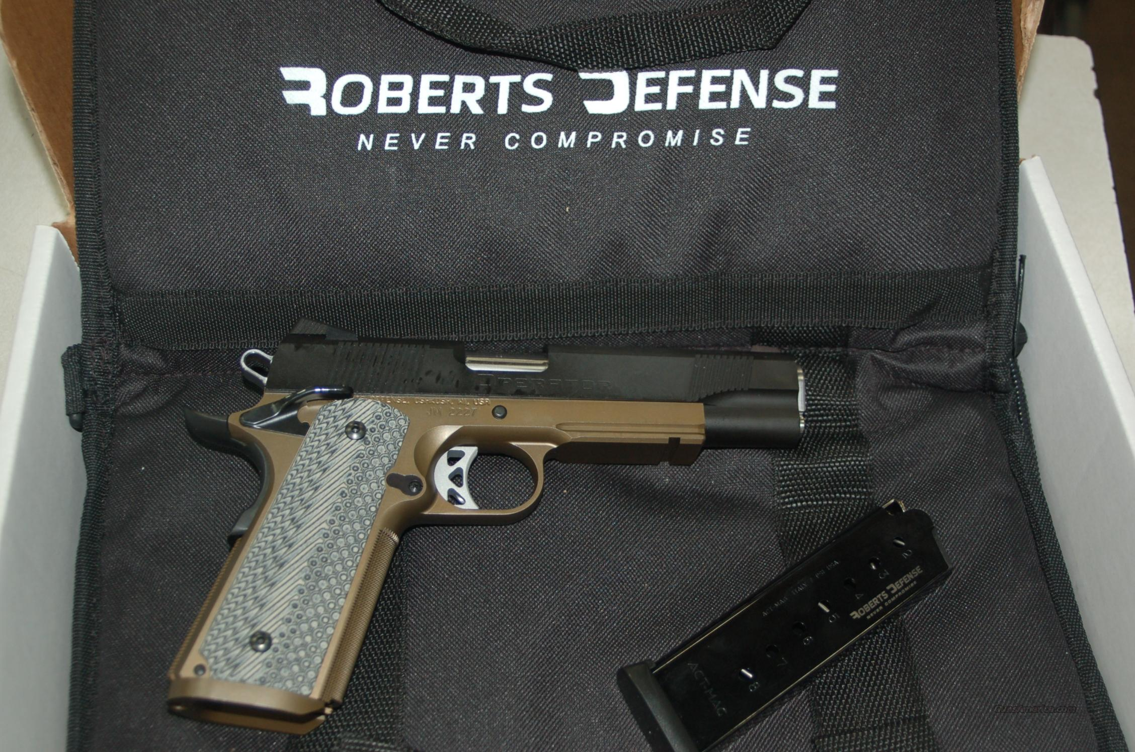 ROBERTS DEFENSE DESERT OPS PRO  Guns > Rifles > R Misc Rifles