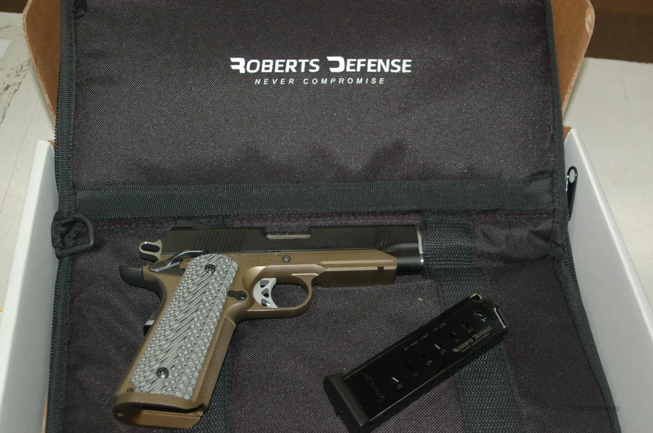 ROBERTS DEFENSE RECON CARRY  Guns > Pistols > R Misc Pistols