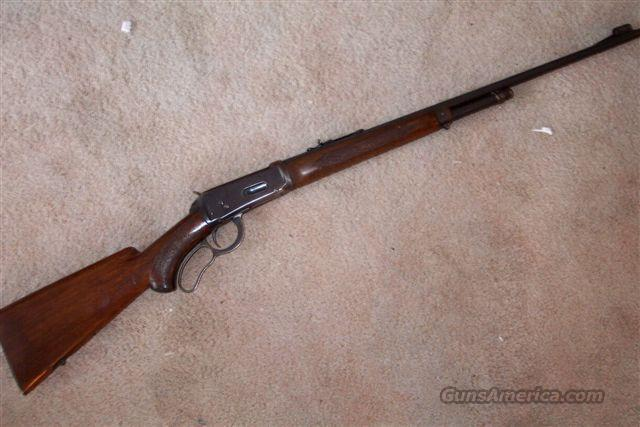 Winchester model 64 Deluxe  Guns > Rifles > Winchester Rifles - Modern Lever > Other Lever > Pre-64