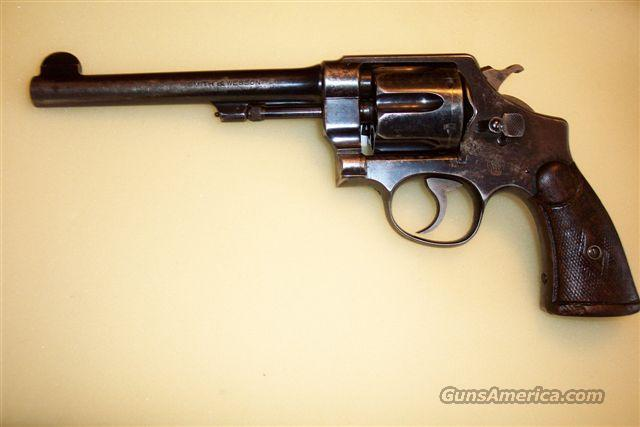 Smith & Wesson 2nd Model 44 H.E.  Guns > Pistols > Smith & Wesson Revolvers > Full Frame Revolver