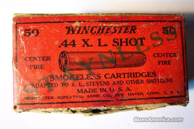 Winchester 44 XL Shot shells-Full-Sealed  Non-Guns > Collectible Cartridges