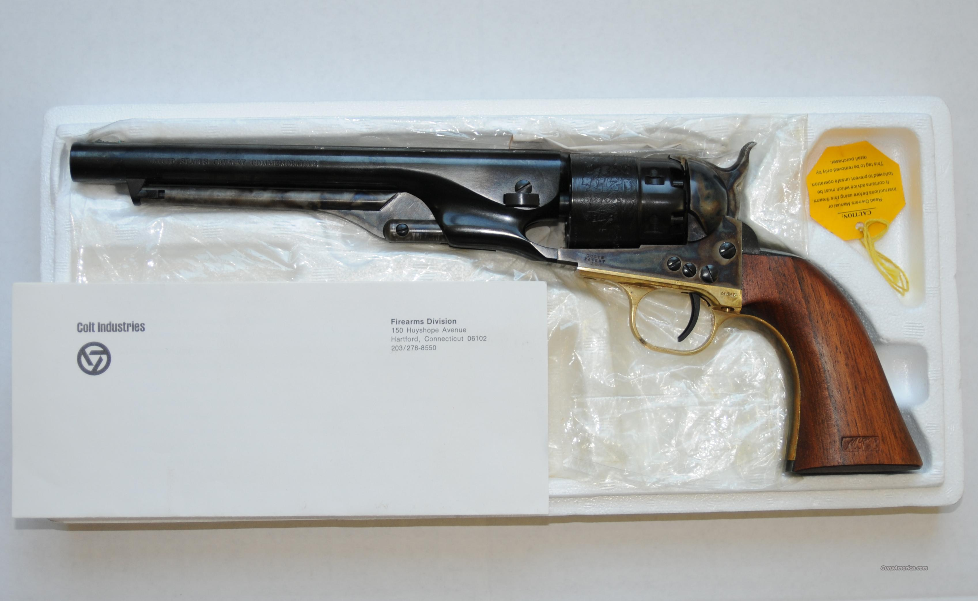 Colt 2nd Generation 1860 Army .44 cal Black Powder Revolvers  Guns > Pistols > Colt Percussion Revolver - Modern