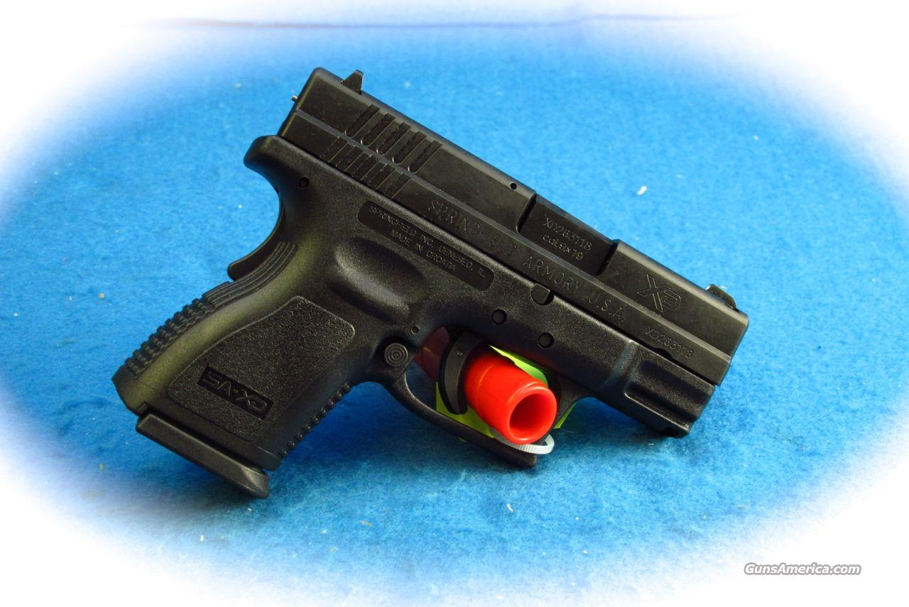 Springfield Armory XD-9 Sub Compact 9mm Pistol **New**  Guns > Pistols > Springfield Armory Pistols > XD (eXtreme Duty)