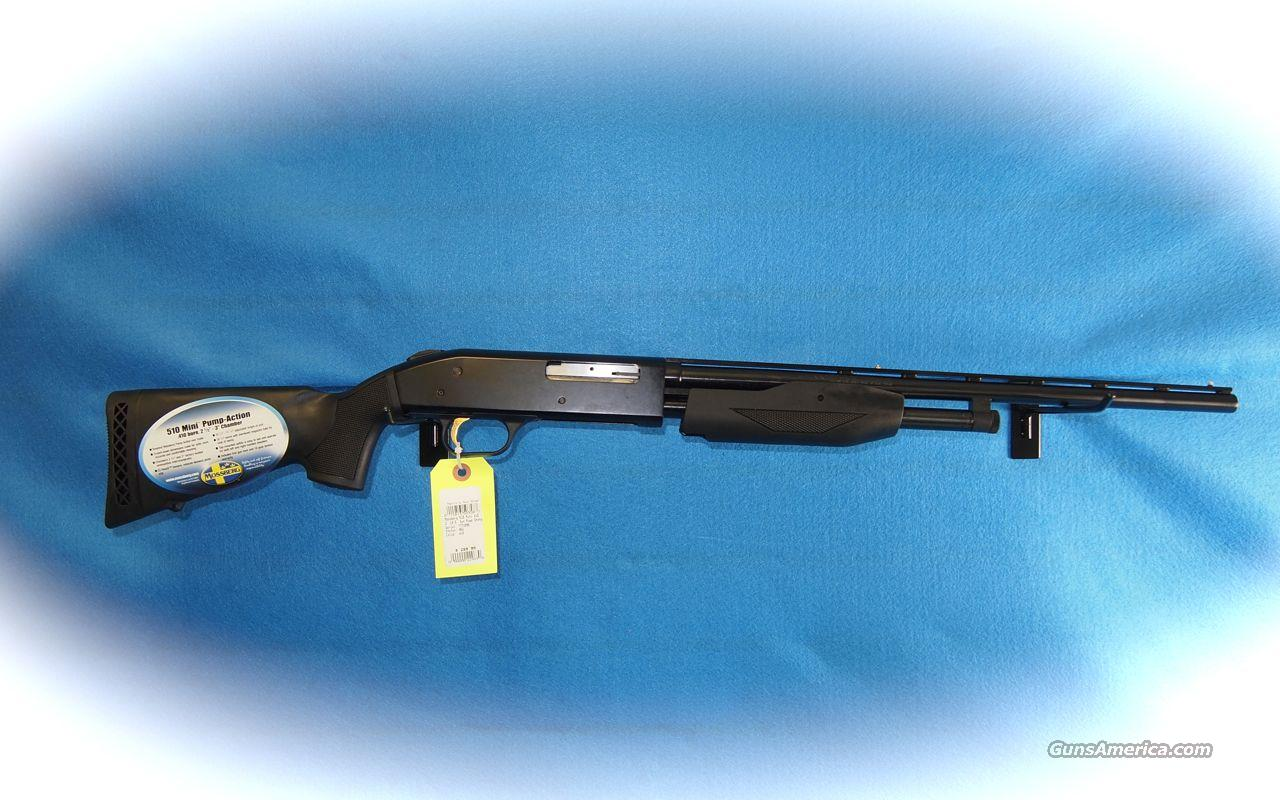 Mossberg Mini Model 510 Pump .410 Ga Shotgun **New**  Guns > Shotguns > Mossberg Shotguns > Pump > Sporting