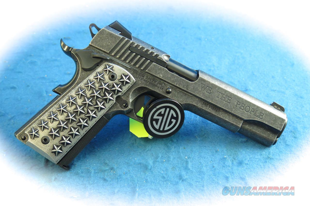 "Sig Sauer 1911 ""We The People"" .45 ACP Pistol **New**  Guns > Pistols > Kimber of America Pistols > 1911"