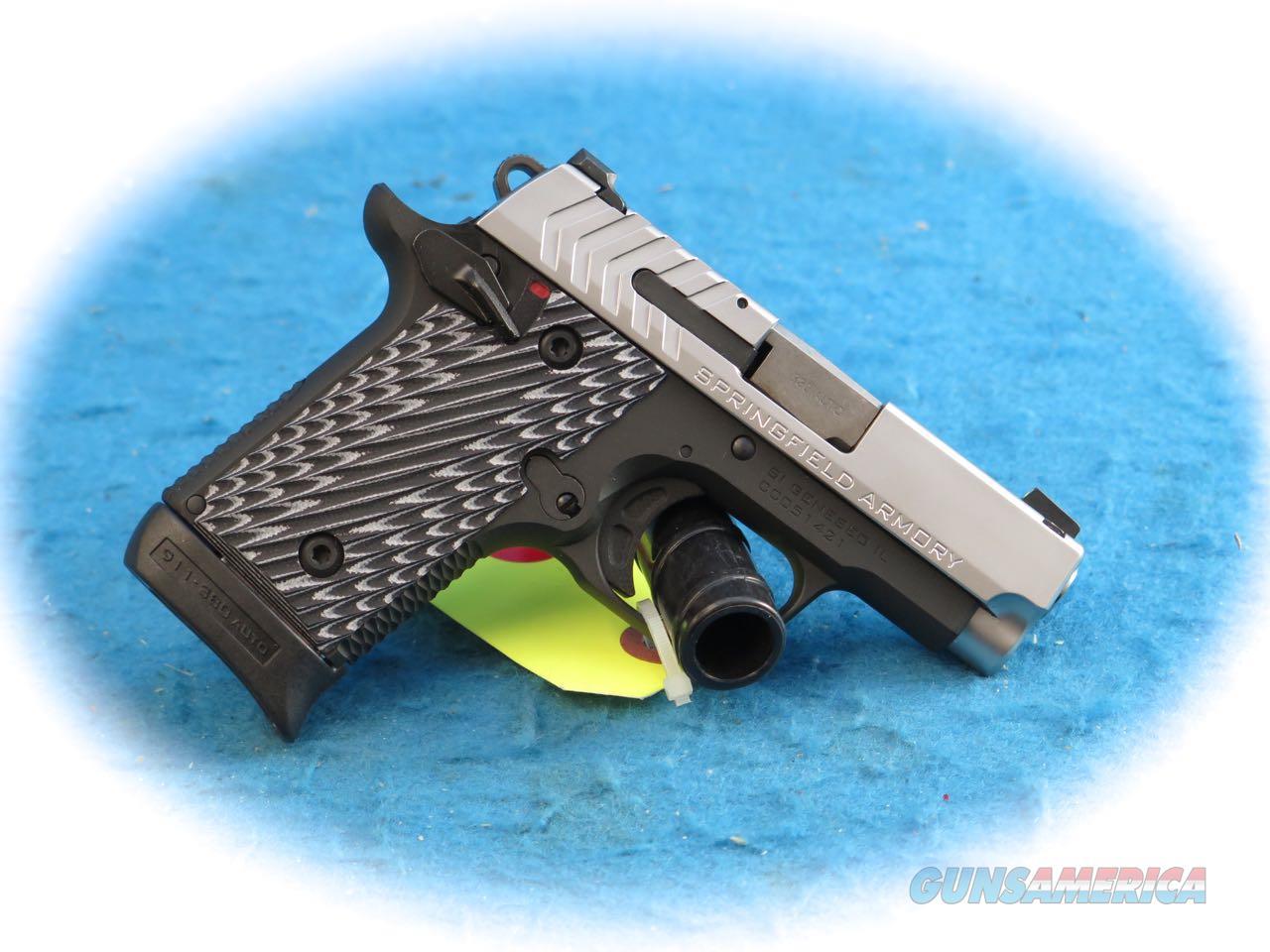 Springfield Armory 911 .380 ACP Pistol Model PG9109S **New**  Guns > Pistols > Springfield Armory Pistols > 1911 Type