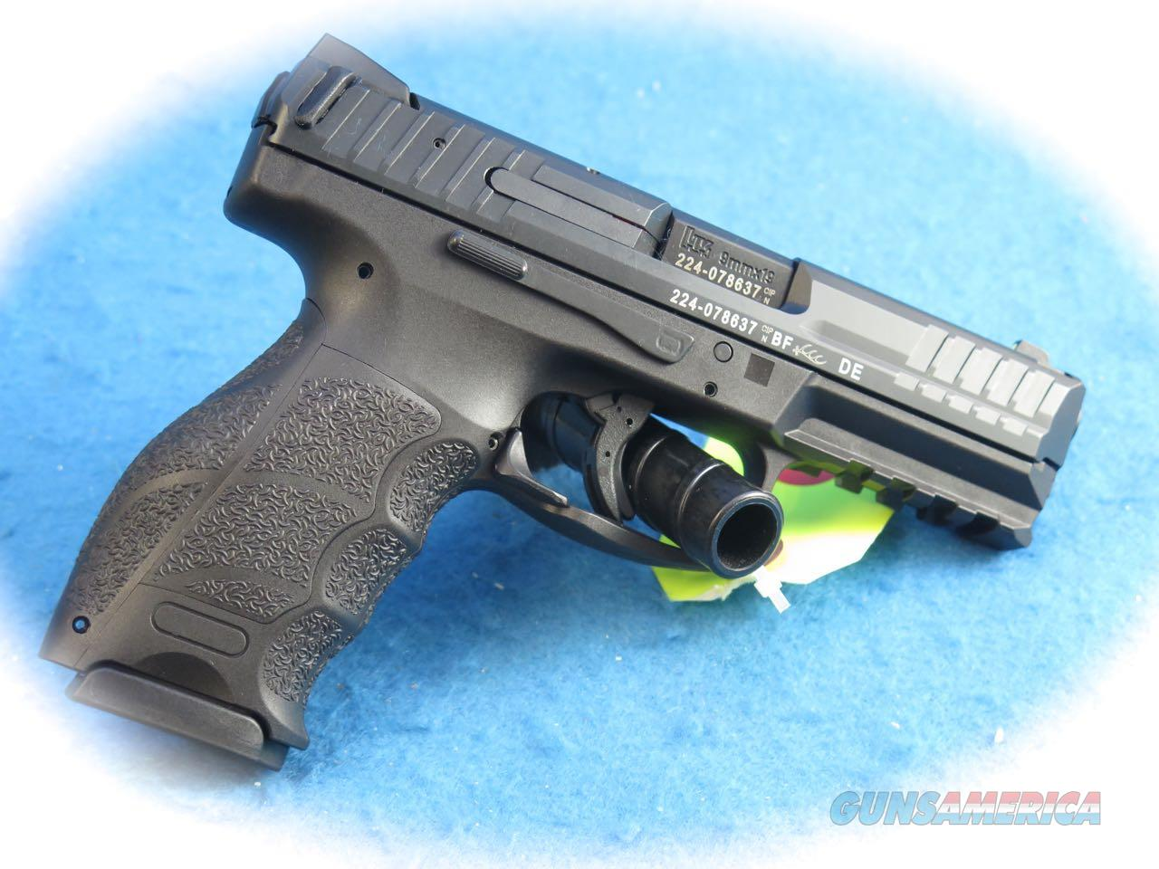 Heckler & Koch VP9 9mm Semi Auto Pistol **New**  Guns > Pistols > Heckler & Koch Pistols > Polymer Frame
