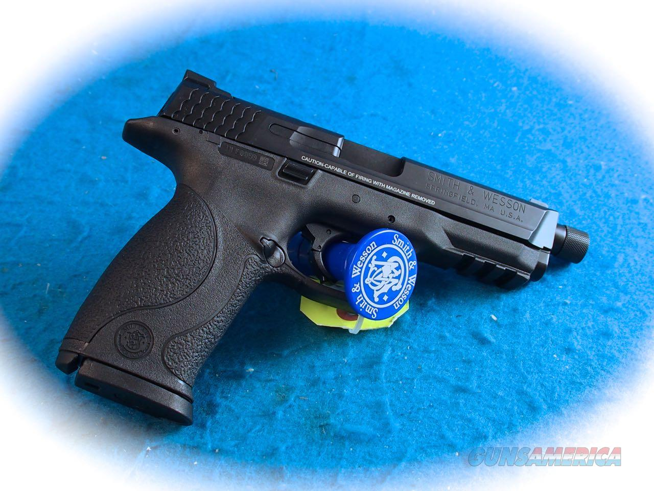 Smith & Wesson M&P9 TB Kit 9mm Pistol Model 150922 **New**  Guns > Pistols > Smith & Wesson Pistols - Autos > Polymer Frame