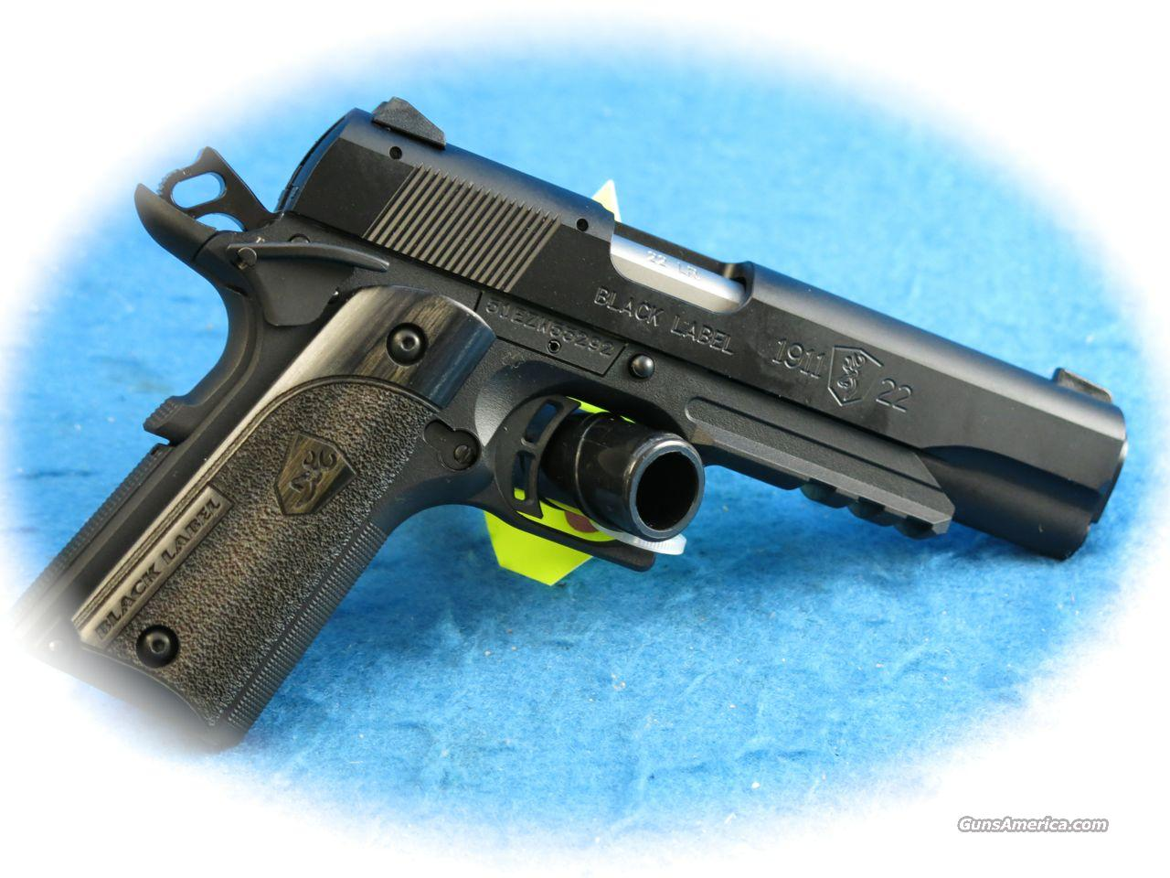 **SALE!!** Browning 1911-22 Compact Black Label W/Rail .22LR Pistol **New**  Guns > Pistols > Browning Pistols > Other Autos