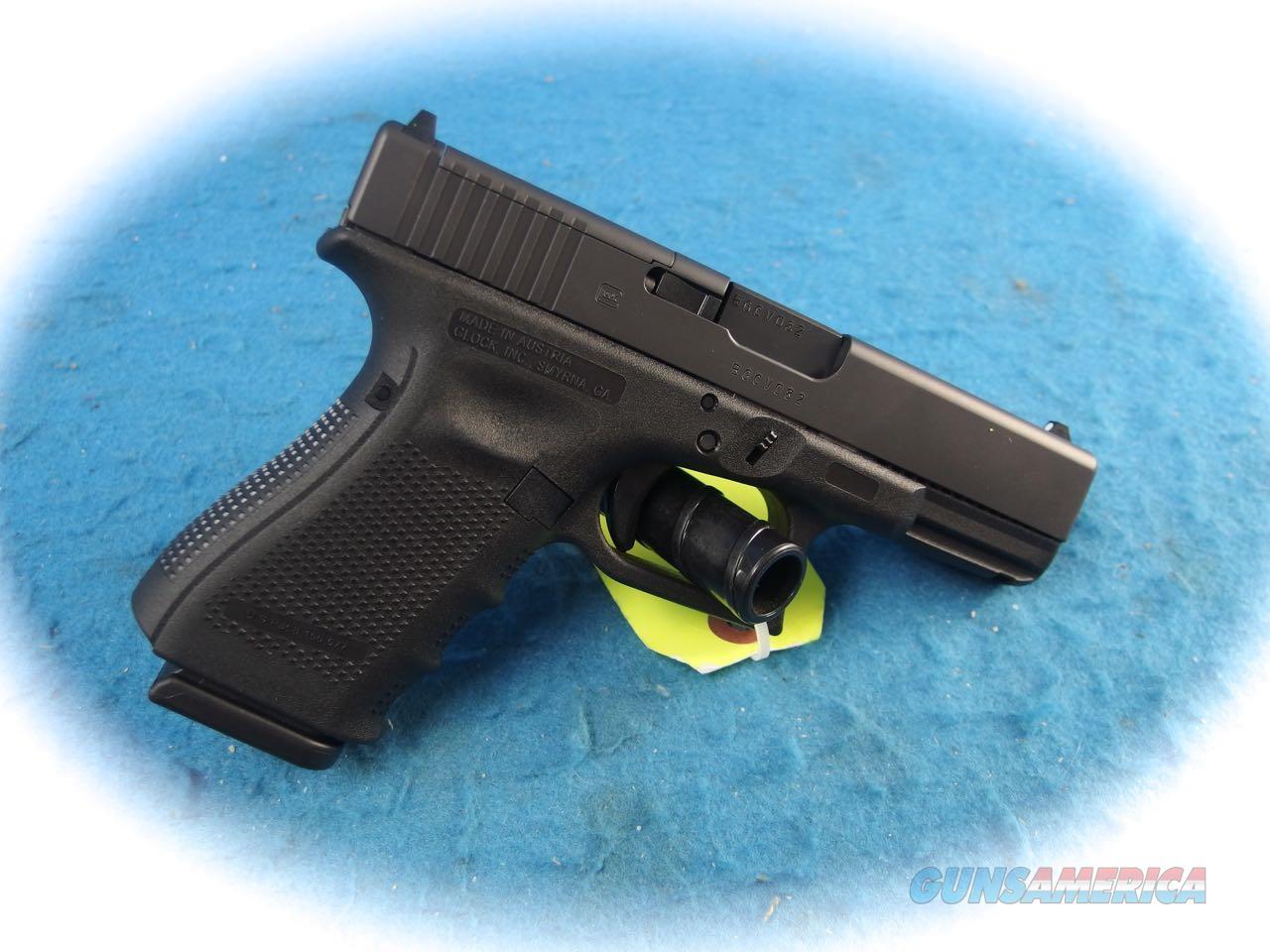Glock Model 19 MOS Gen 4 9mm Semi Auto Pistol **New**  Guns > Pistols > Glock Pistols > 19