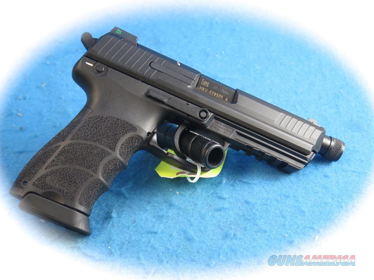 **SALE** Heckler & Koch HK45 Tactical Semi Auto Pistol with TB **New**  Guns > Pistols > Heckler & Koch Pistols > Polymer Frame