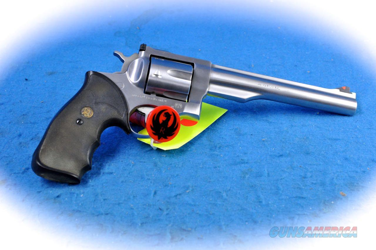 Ruger Redhawk .44 Magnum SS Revolver **Used**  Guns > Pistols > Ruger Double Action Revolver > Redhawk Type