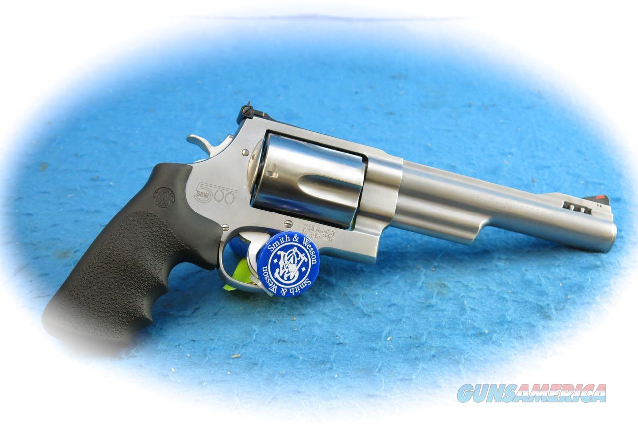 Smith & Wesson Model SW500 SS Revolver .500 S&W Mag Cal **New**  Guns > Pistols > Smith & Wesson Revolvers > Full Frame Revolver