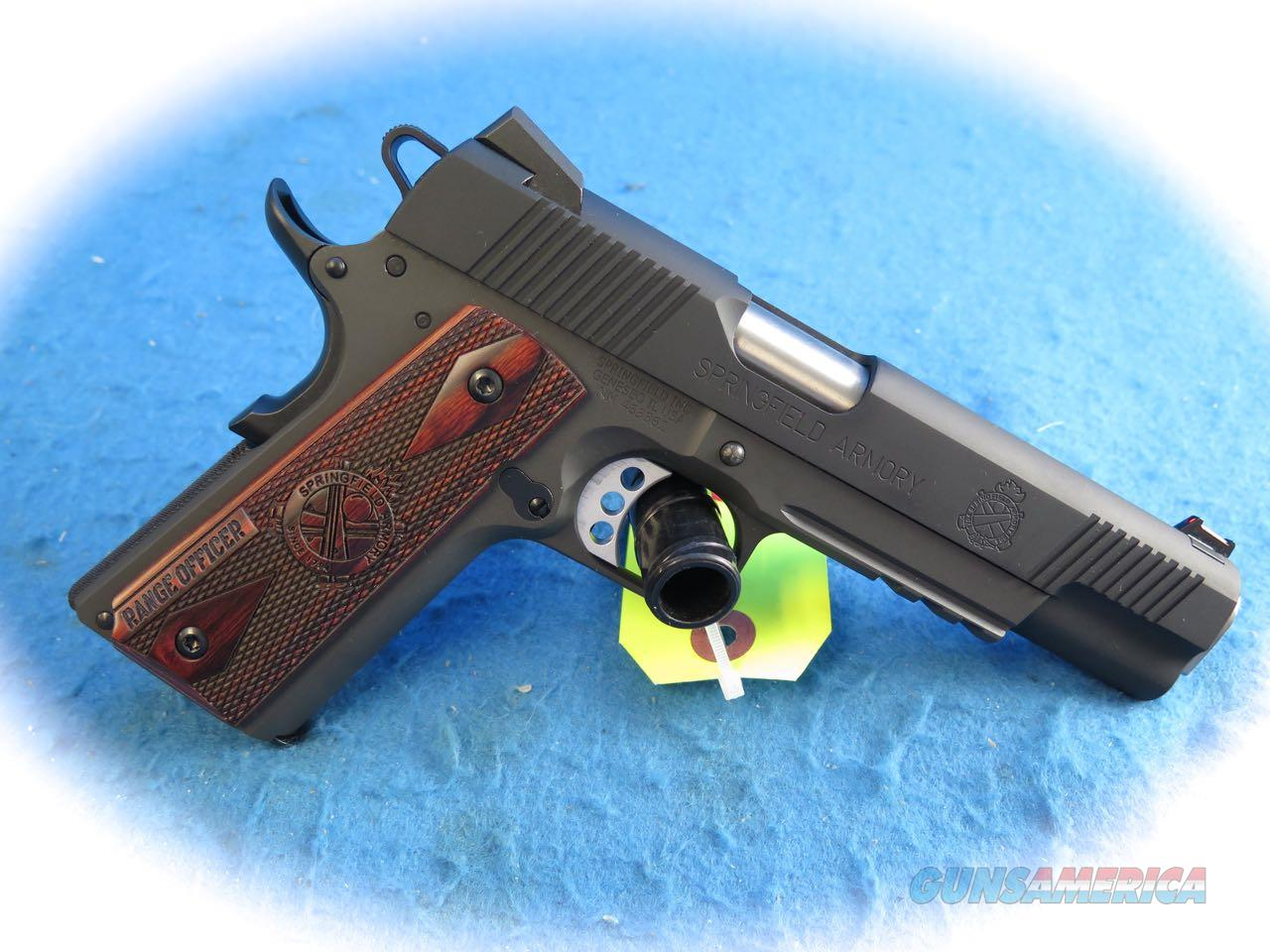 Springfield Armory 1911 Range Officer Operator .45 ACP Pistol PI9131LP **New**  Guns > Pistols > Springfield Armory Pistols > 1911 Type