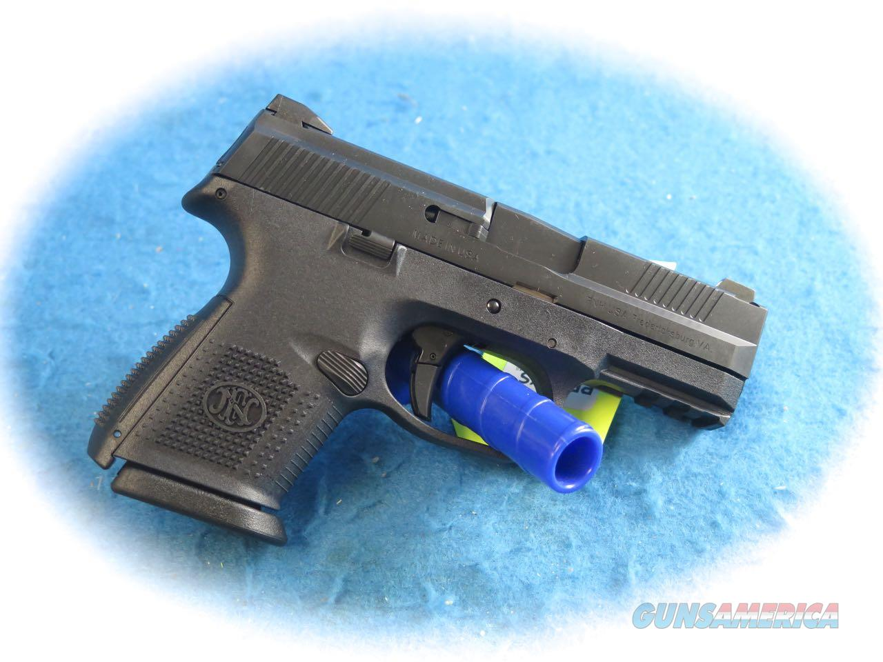 FN FNS 9 Compact 9mm Pistol W/ NS **New**  Guns > Pistols > FNH - Fabrique Nationale (FN) Pistols > FNS