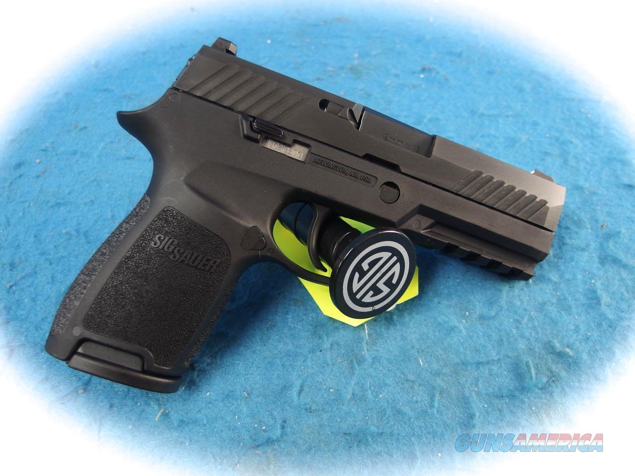 Sig Sauer P320C Nitron Compact 9mm Pistol Model 320C-9-B **New**  Guns > Pistols > Sig - Sauer/Sigarms Pistols > P320