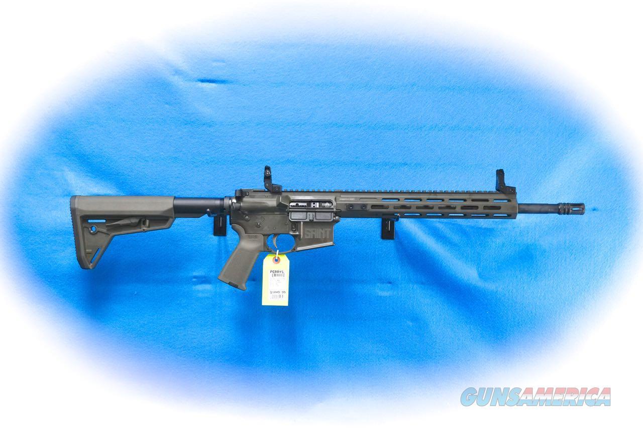 Springfield Armory Saint 5.56 w/Free Float Handguard OD Green Model ST916556ODGFFH **New**  Guns > Rifles > Springfield Armory Rifles > SAINT
