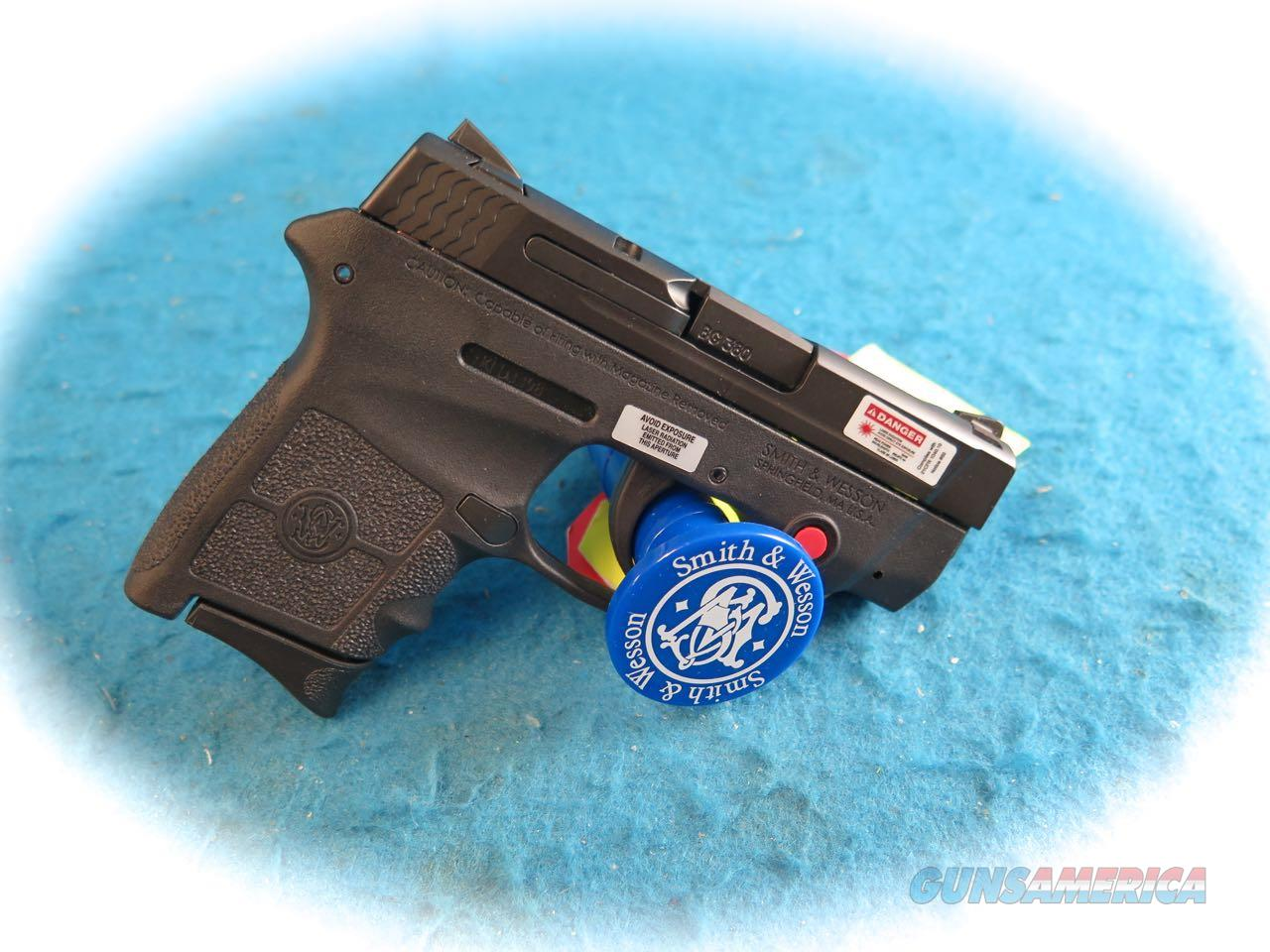 Smith & Wesson M&P Bodyguard w/Laser .380 ACP Pistol SKU 10048 **New**  Guns > Pistols > Smith & Wesson Pistols - Autos > Polymer Frame