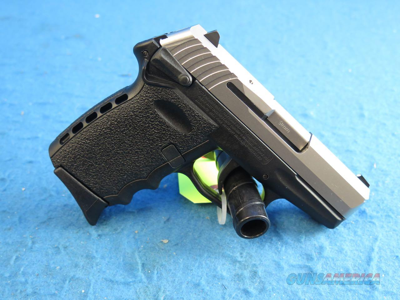 SCCY Model CPX-1 TT 9mm Pistol Black/SS **New**  Guns > Pistols > SCCY Pistols > CPX1