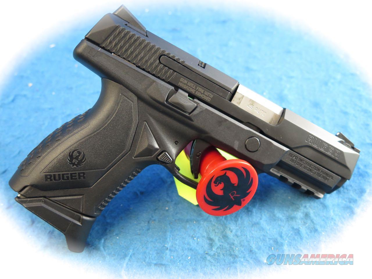Ruger American Pro Compact .45 ACP Pistol Model 8645 **New** Guns > Pistols > Ruger Semi-Auto Pistols > American Pistol