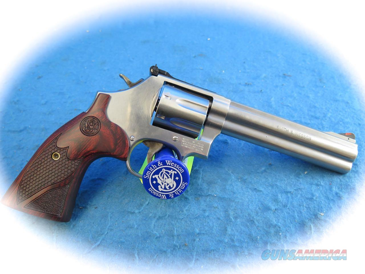 "Smith & Wesson 686 Plus Deluxe SS Revolver .357 Mag 6 "" BBL Model 150712 **New**  Guns > Pistols > Smith & Wesson Revolvers > Med. Frame ( K/L )"