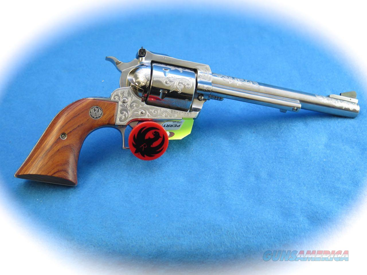 Ruger New Model Super Blackhawk .44 Magnum SS Engraved **Used**  Guns > Pistols > Ruger Single Action Revolvers > Blackhawk Type