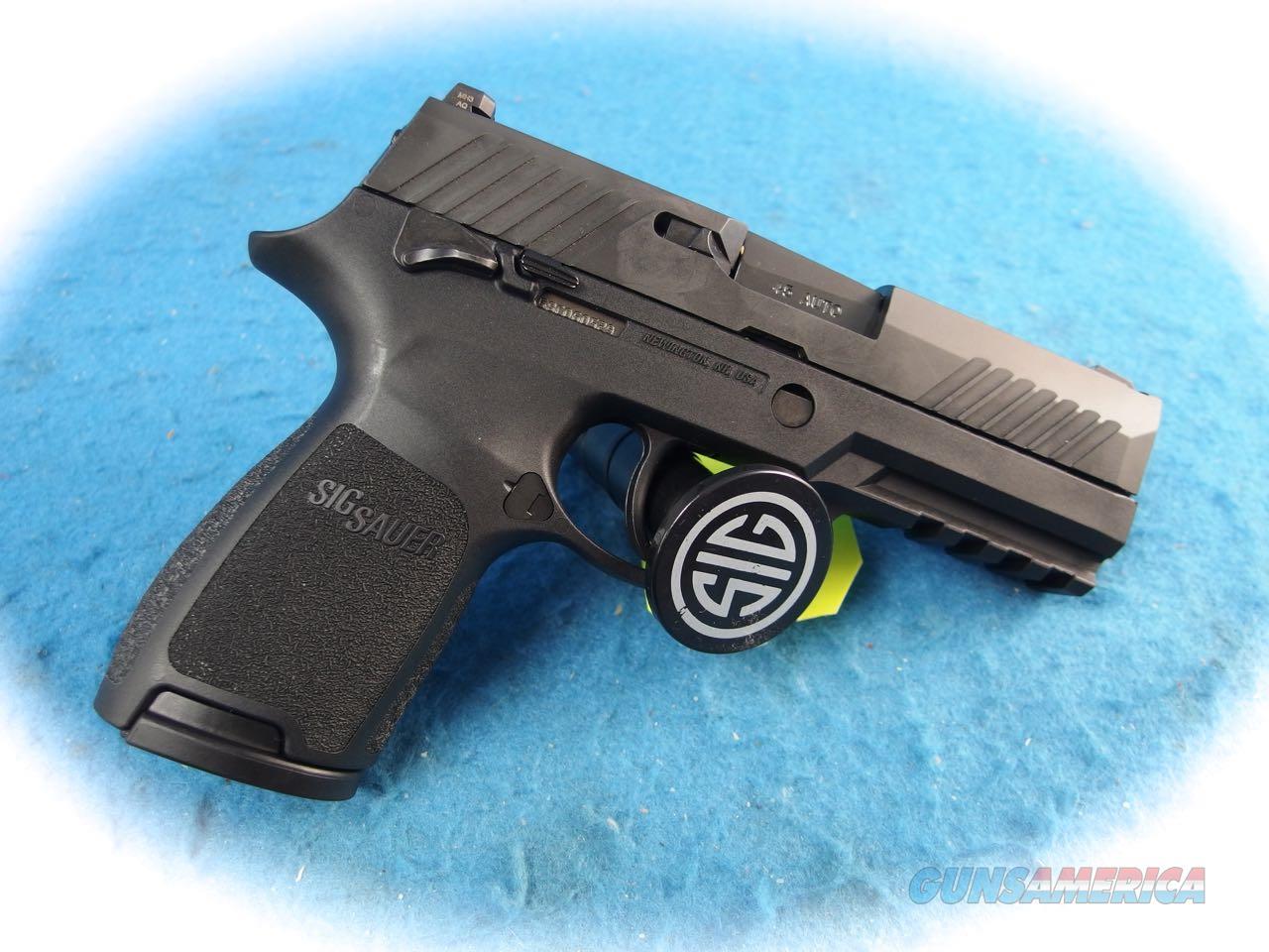 Sig Sauer P320C Nitron Compact .45 ACP Pistol W.Thumb Safety **New**  Guns > Pistols > Sig - Sauer/Sigarms Pistols > P320