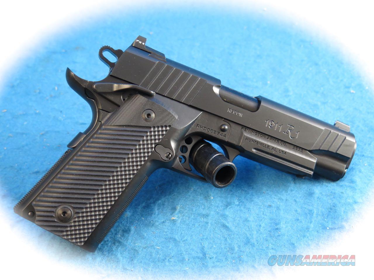 Remington 1911 R1 Recon Commander 9mm Pistol Model 96490 **New**  Guns > Pistols > Remington Pistols - Modern > 1911