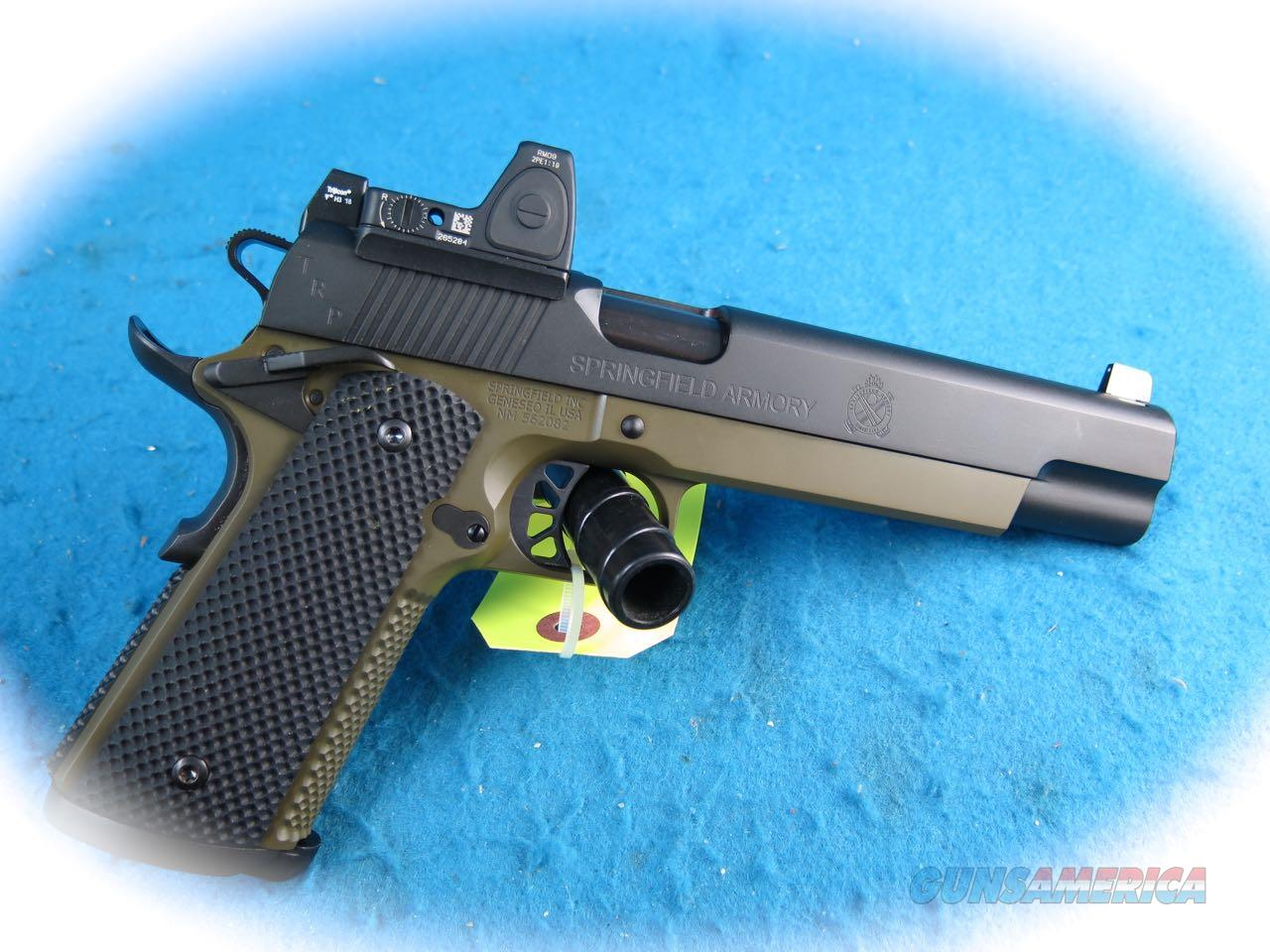 Springfield Armory 1911 TRP 10MM RMR Long Slide 10mm Pistol **New**  Guns > Pistols > Springfield Armory Pistols > 1911 Type