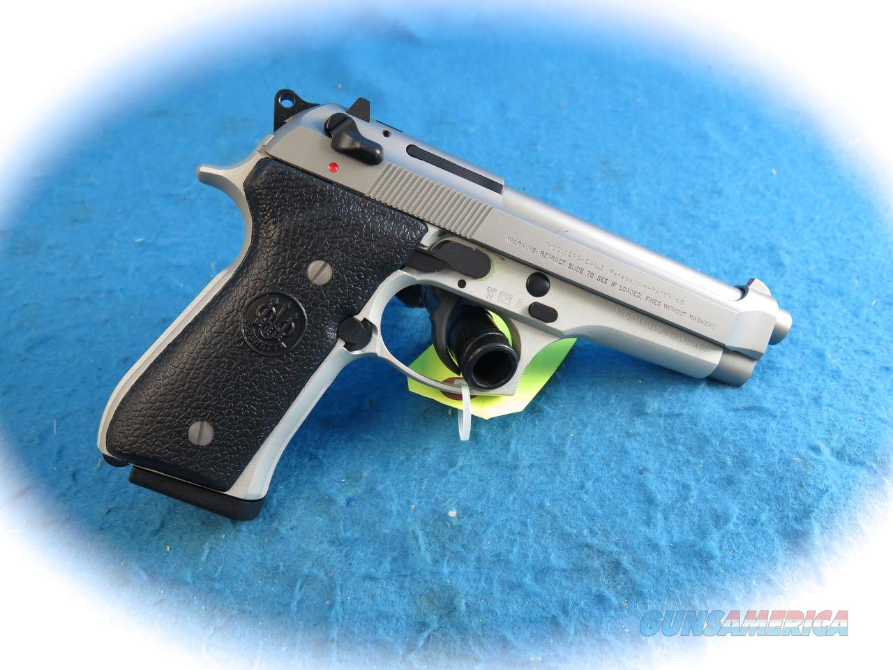 Beretta Model 92FS Inox 9mm Pistol Made in Italy **New**  Guns > Pistols > Beretta Pistols > Model 92 Series