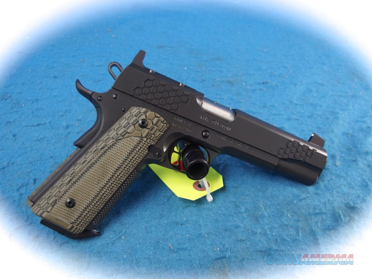 Kimber 1911 KHX Custom (OR) 9mm Pistol **New**  Guns > Pistols > Kimber of America Pistols > 1911
