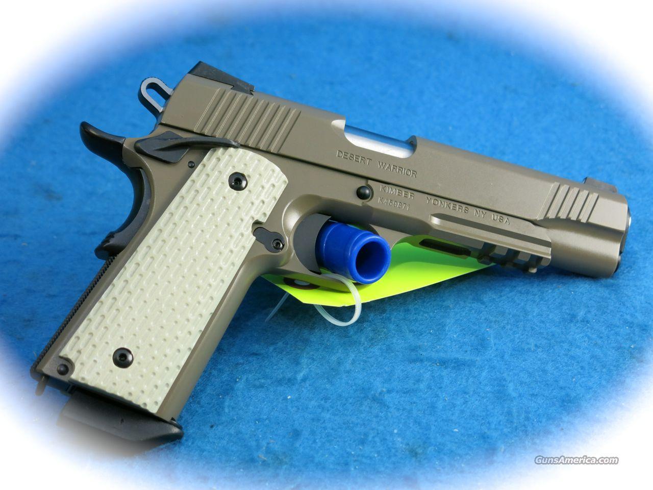 **SALE!!** Kimber Desert Warrior 1911 .45 ACP PIstol **New**  Guns > Pistols > Kimber of America Pistols > 1911