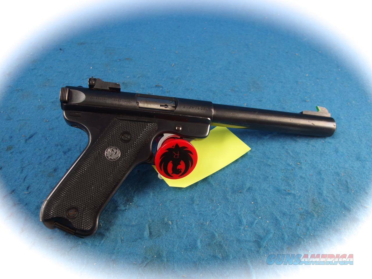 Ruger Mark II Target Pistol .22LR Cal   **Used**  Guns > Pistols > Ruger Semi-Auto Pistols > Mark I/II/III/IV Family