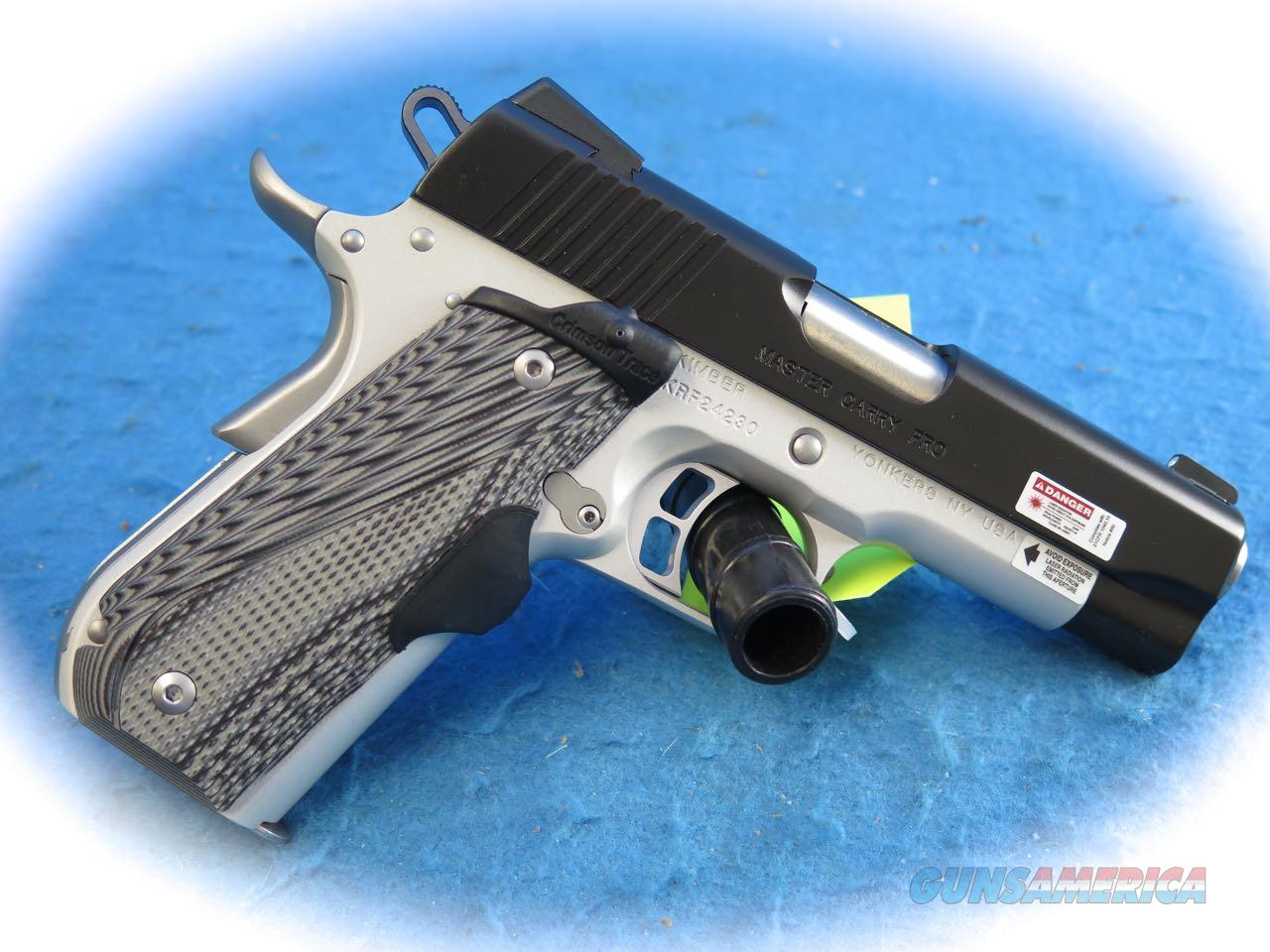 Kimber 1911 Master Carry Pro 9mm Semi Auto Pistol W/CT Grips **New** Guns > Pistols >  Kimber of America Pistols > 1911