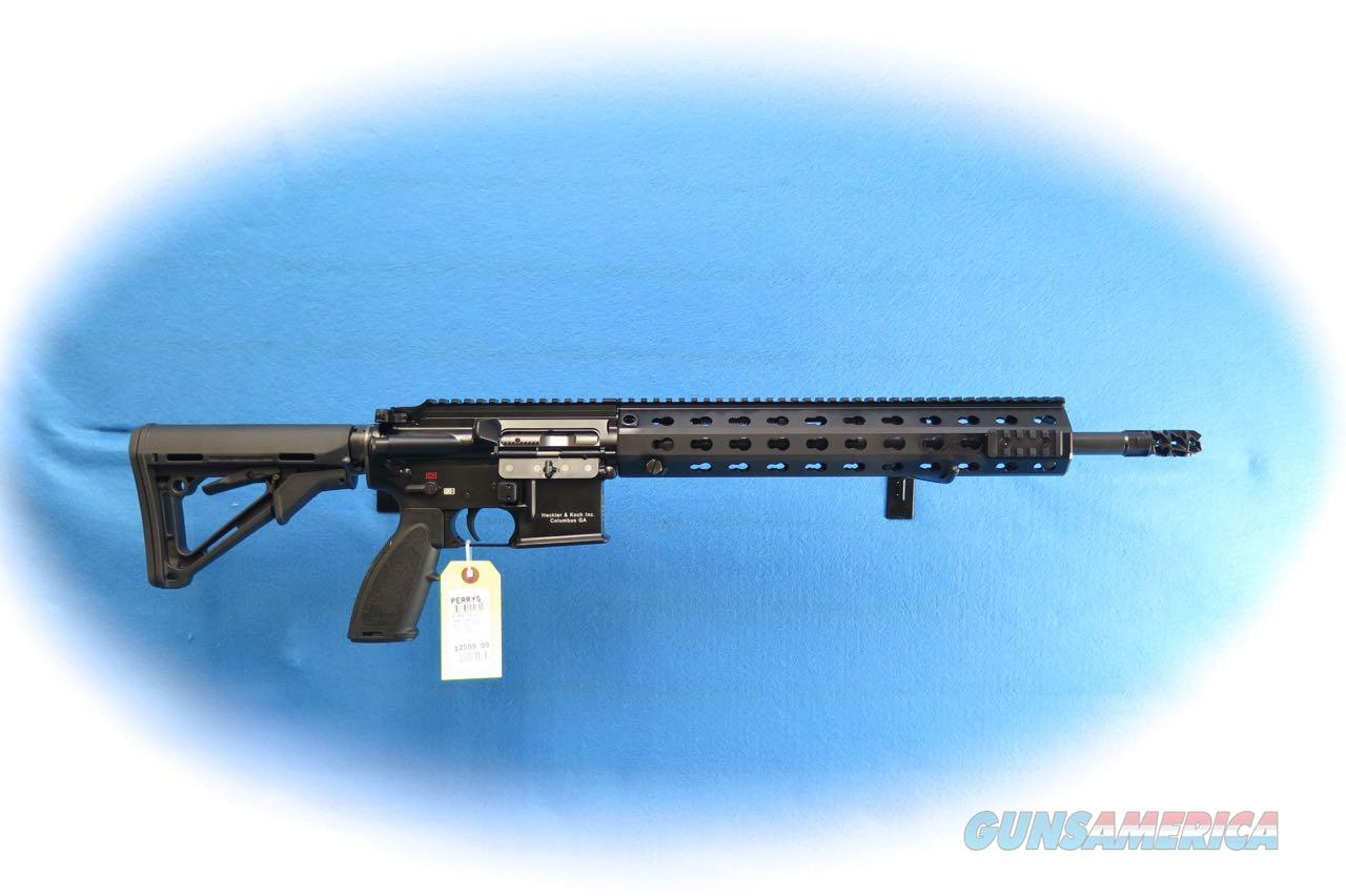 Heckler& Koch AR556A1 Competition Model 5.56mm Semi Auto Rifle **New**  Guns > Rifles > Heckler & Koch Rifles > Sporting/Hunting