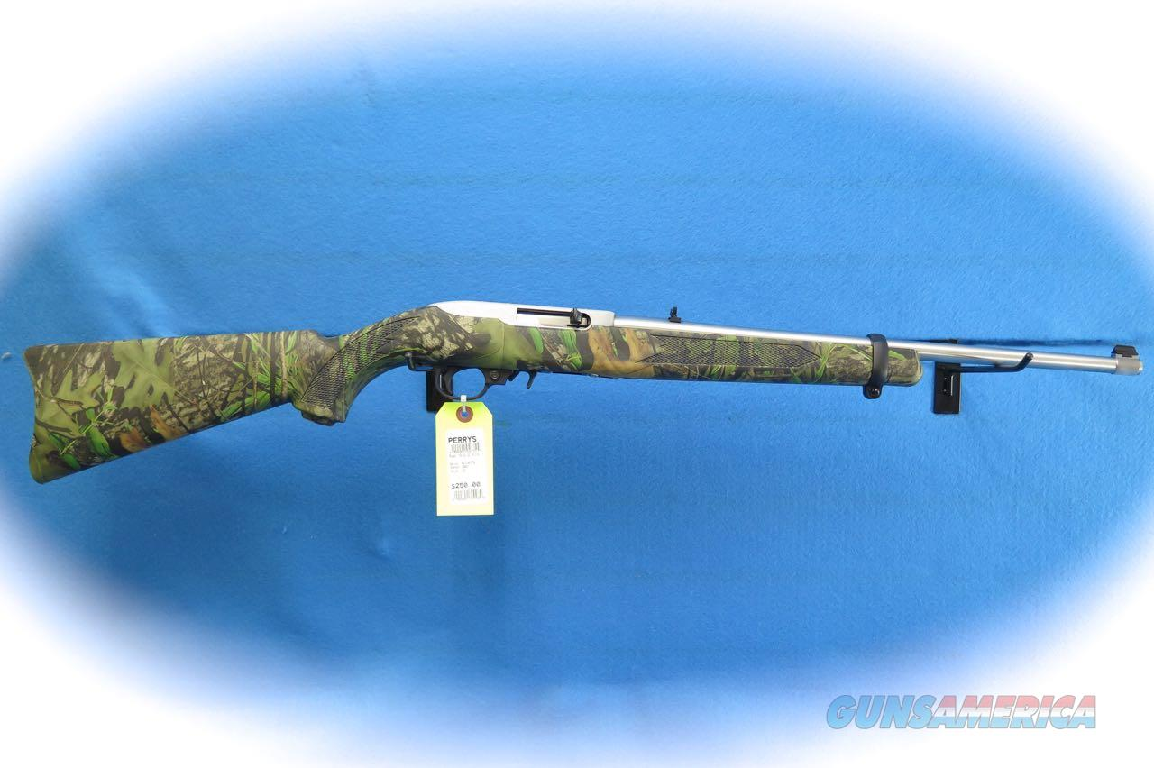 Ruger 10/22 Semi Auto .22 LR Rifle SS/Camo **Used**  Guns > Rifles > Ruger Rifles > 10-22