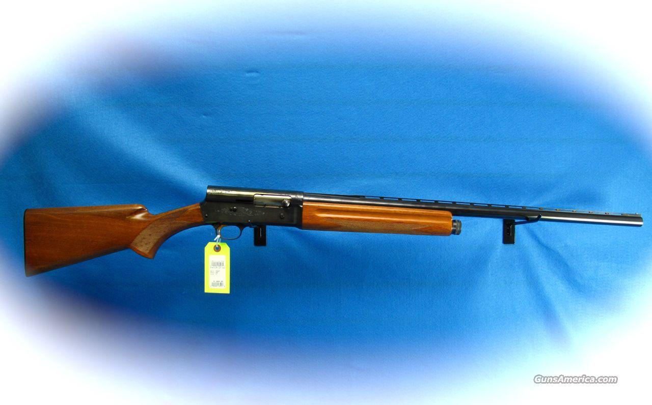 Browning a5 light twelve shotgun belgian made used guns gt shotguns
