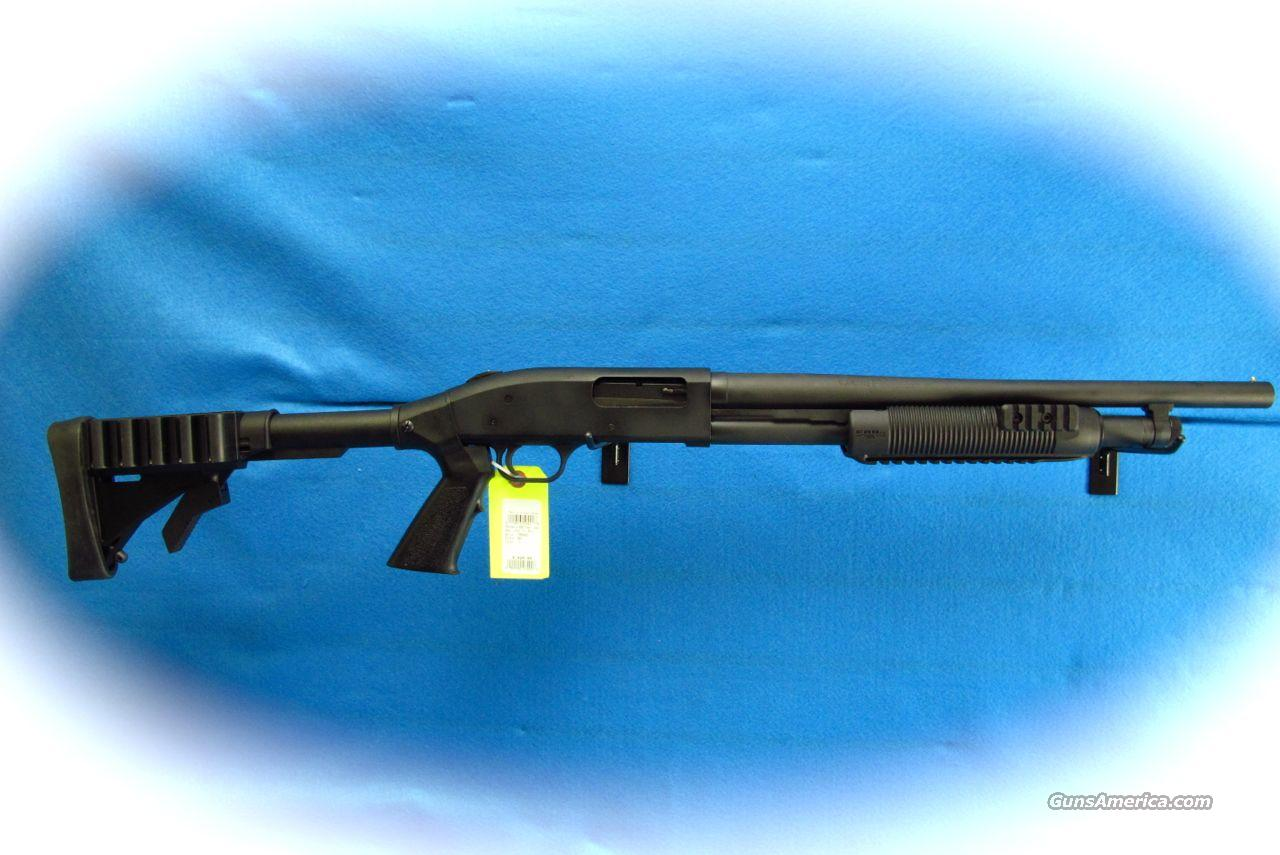 Mossberg 500 Tactical Tri Rail 12 Ga. Pump Shotgun **New**  Guns > Shotguns > Mossberg Shotguns > Pump > Tactical