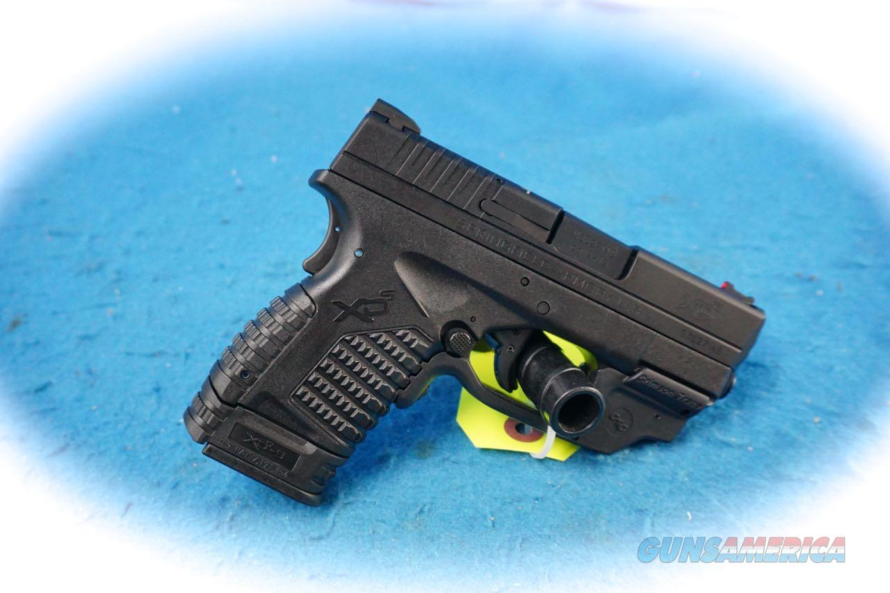 Springfield Armory XD-s 3.3 9MM Pistol W/CT Green Laser **New**  Guns > Pistols > Springfield Armory Pistols > XD-S