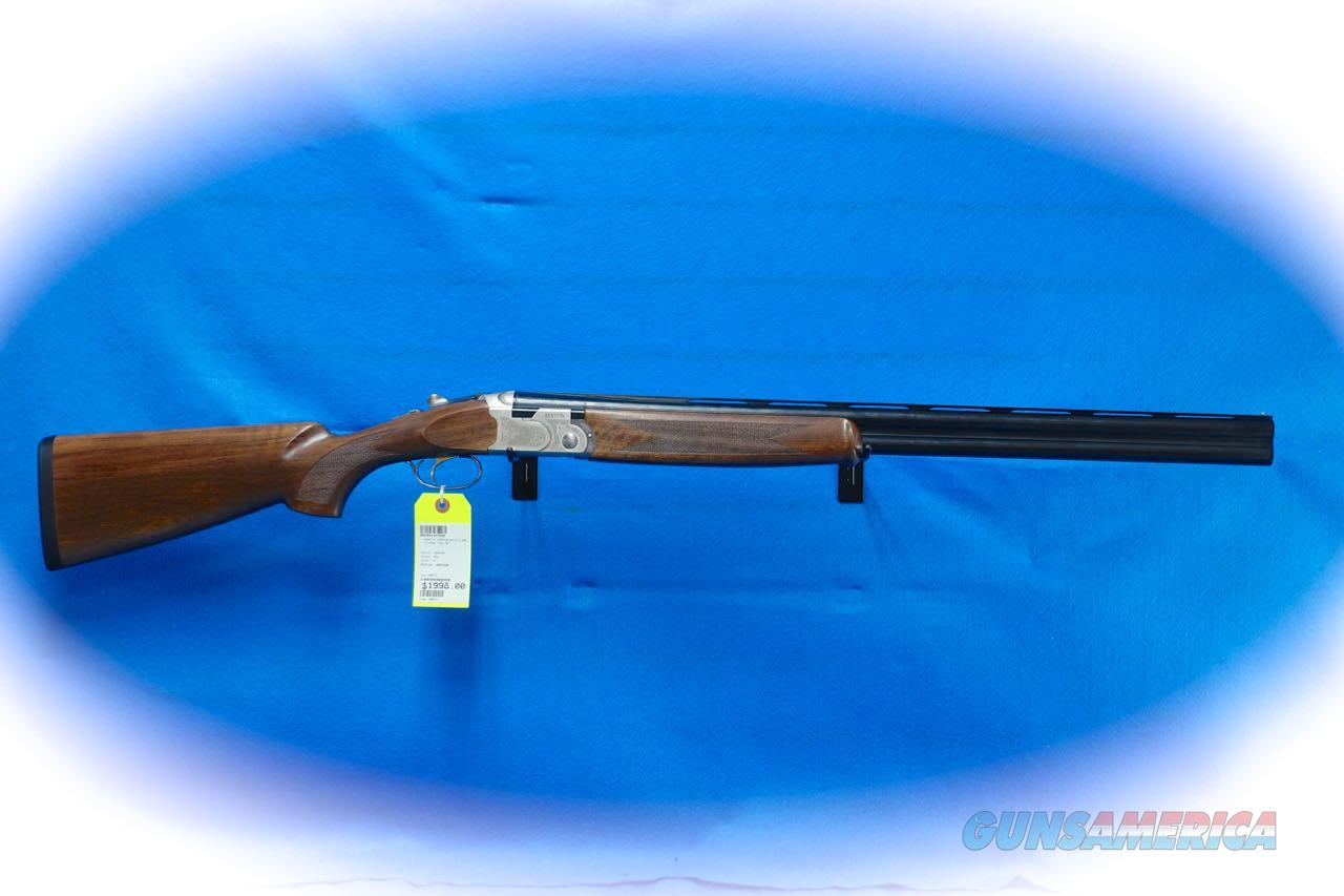 Beretta 686 Silver Pigeon I 12 Ga. O/U Shotgun Model J6863J8 **New**  Guns > Shotguns > Beretta Shotguns > O/U > Hunting