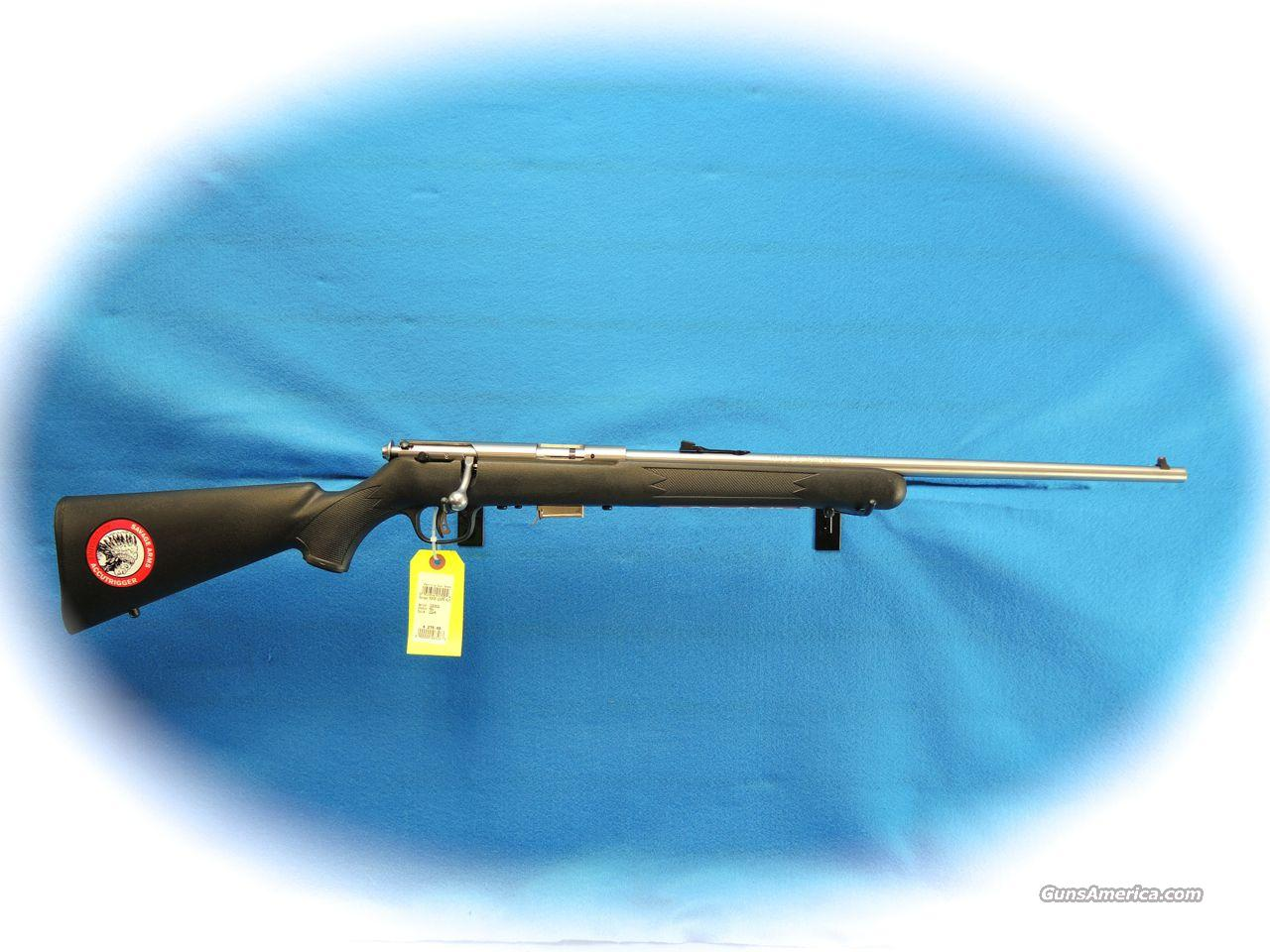 Savage 93 FSS .22 Magnum Bolt Action Rifle SS **New**  Guns > Rifles > Savage Rifles > Accutrigger Models > Sporting