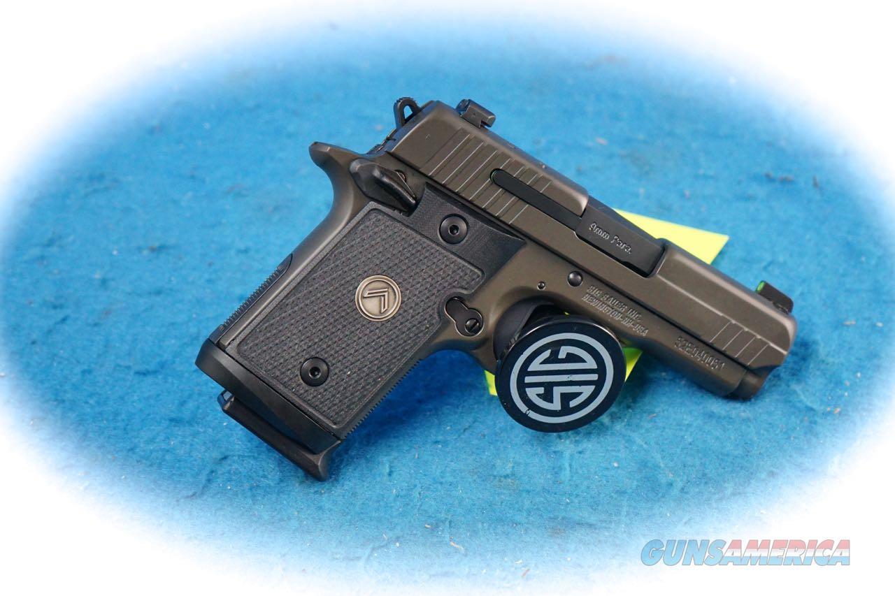 Sig Sauer P938 Legion Micro-Compact 9mm Pistol **New**  Guns > Pistols > Sig - Sauer/Sigarms Pistols > P938