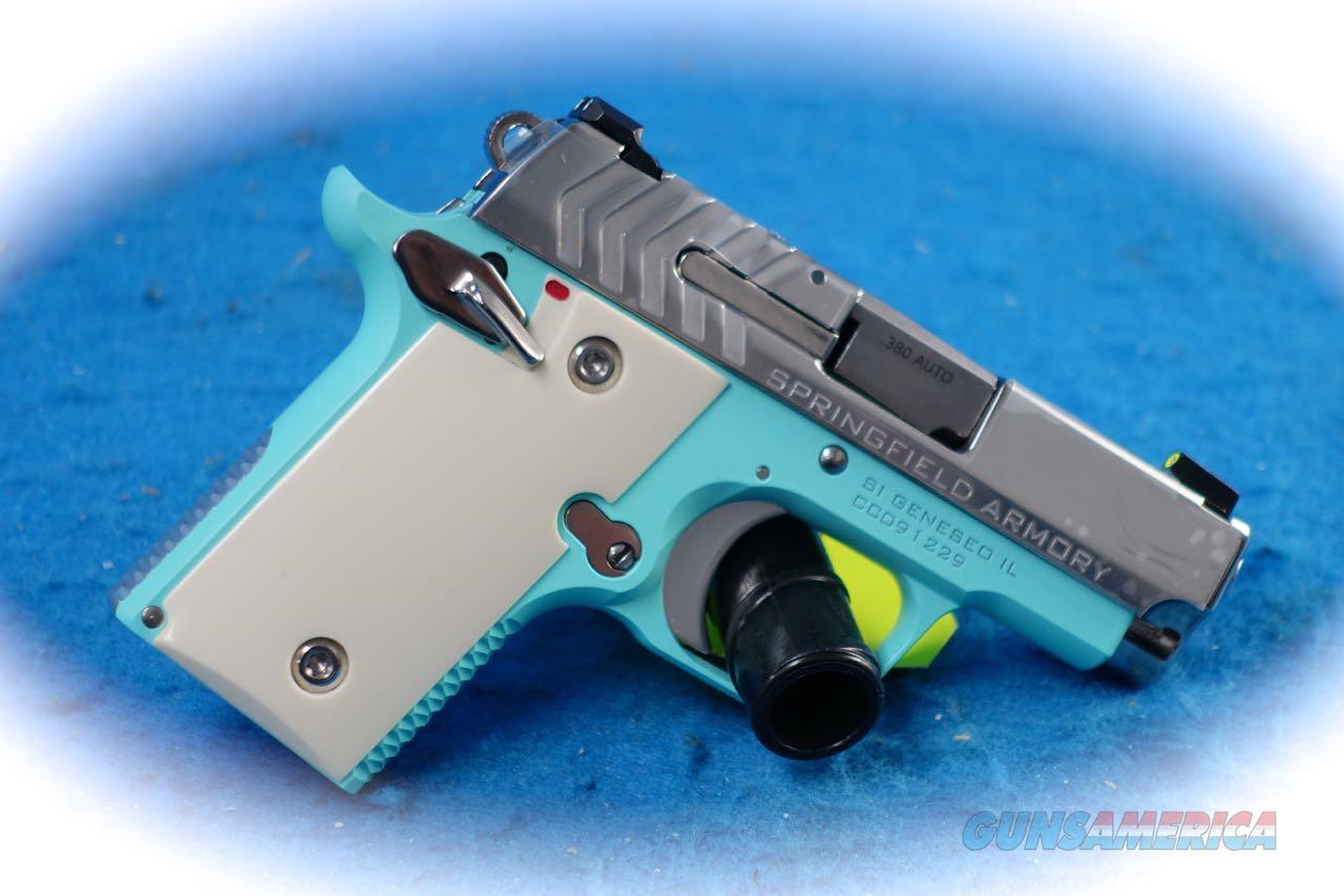 Springfield Armory 911 .380 ACP Pistol Vintage Blue  Model PG9109VBS **New**  Guns > Pistols > Springfield Armory Pistols > 911