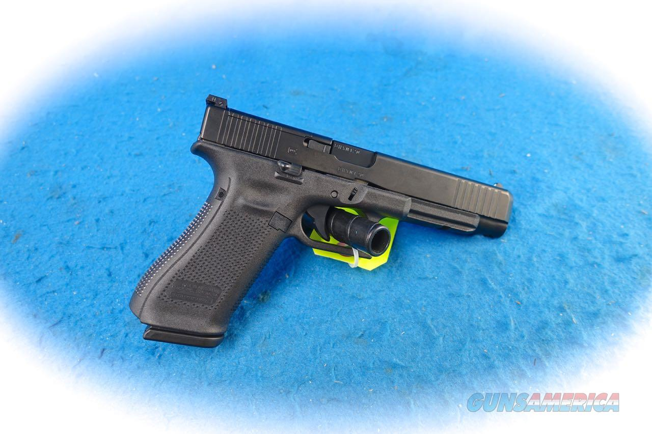 Glock Model 34 Gen 5 MOS 9mm Pistol **New**  Guns > Pistols > Glock Pistols > 34
