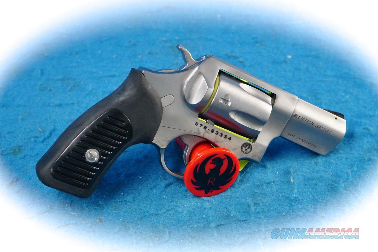 Ruger SP101 .357 Mag SS Revolver Model 5718 **New**  Guns > Pistols > Ruger Double Action Revolver > SP101 Type