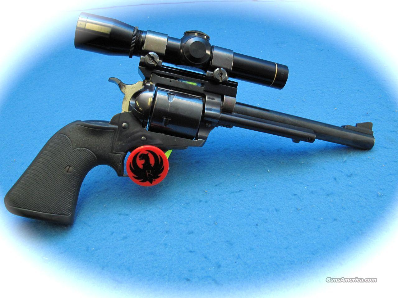 Ruger Super Blackhawk 44 Mag W/ Leupold Scope **Used**  Guns > Pistols > Ruger Single Action Revolvers > Blackhawk Type